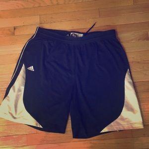 Adidas 2XL athletic shorts-team performance.